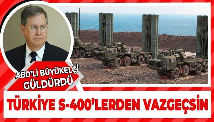 ABD Büyükelçisi'nden Türkiye ve Rusya'ya tehdit dolu mesaj