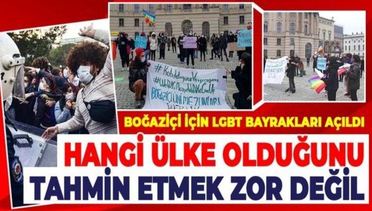 Boğaziçi Üniversitesi'ndeki provokasyona Almanya'daki LGBT üyelerinden destek