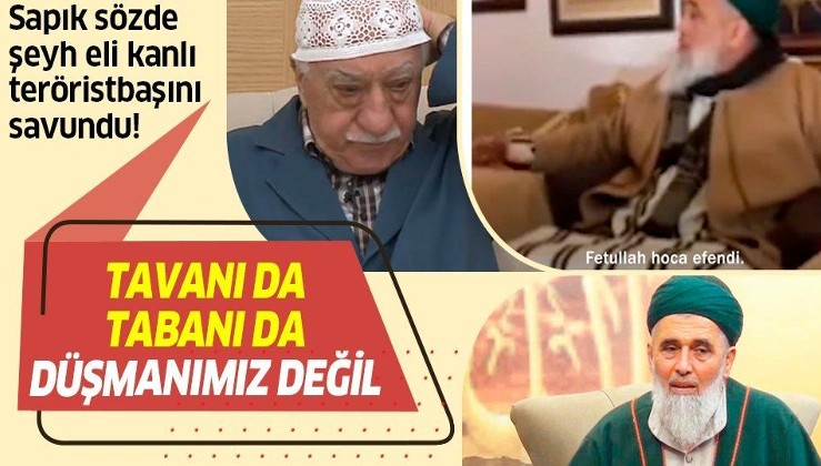 Sapık sözde şeyh Fatih Nurullah eli kanlı teröristbaşı Fetullah Gülen'i savundu: Sarılalım, hapishaneleri boşaltalım