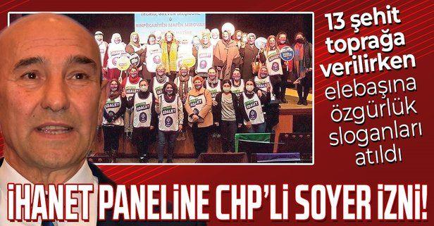 CHP'li Soyer'den terörün siyasi ayağı HDP'nin ihanet paneline izin: Elebaşına özgürlük sesleri yükseldi