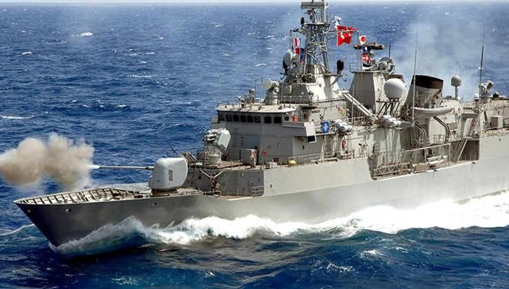 Türk Donanması Doğu Akdeniz'i ısıtacak