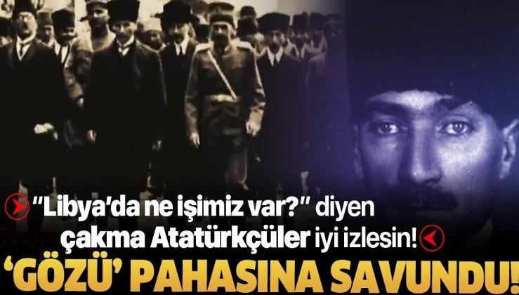 'Gözü' pahasına savunmuştu! İşte Mustafa Kemal Atatürk'ün Libya mücadelesi!