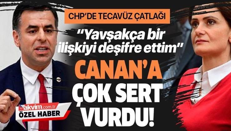 Taciz skandallarının ardından CHP'li Barış Yarkadaş'tan Canan Kaftancıoğlu'na sert sözler: Yavşakça bir ilişkiyi deşifre ettim!