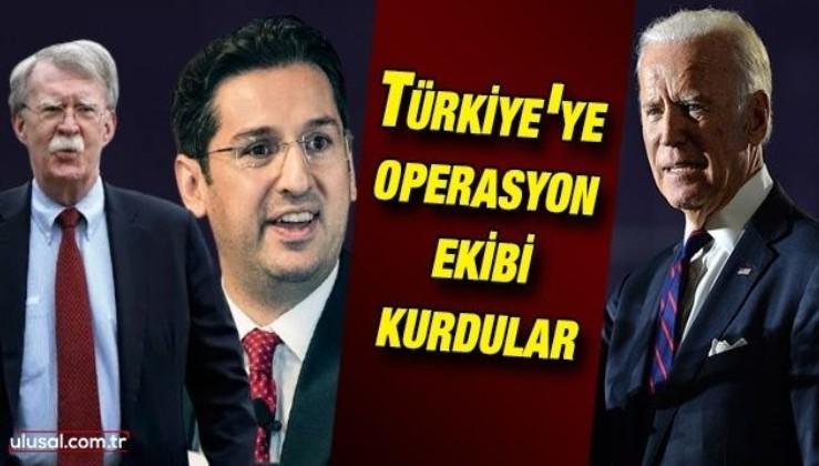Türkiye'ye operasyon ekibi kurdular