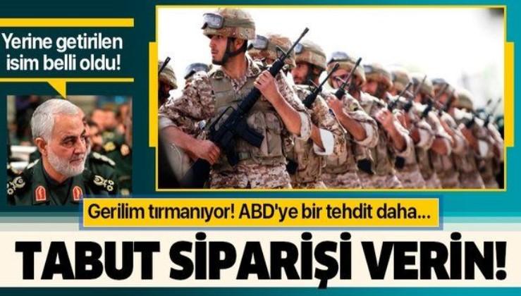 Trump'ın emriyle öldüren Süleymani'nin yerine getirilen isim belli oldu!.