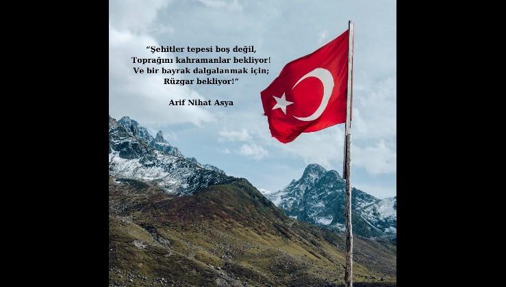 Bayrak Şairimiz Arif Nihat Asya