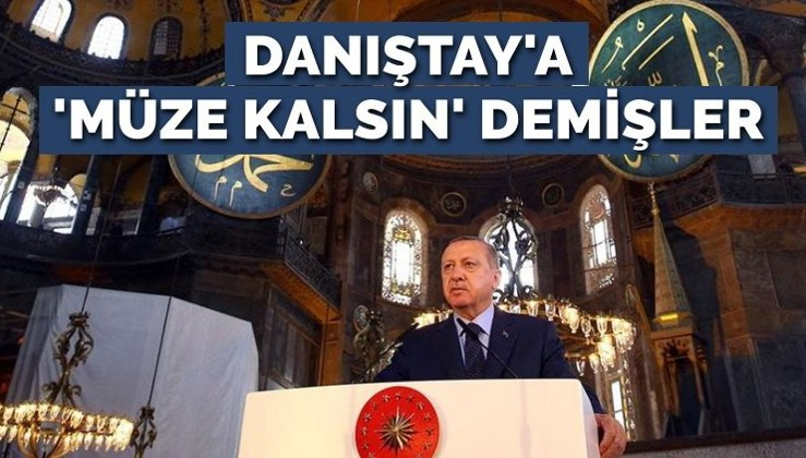 Cumhurbaşkanlığı 'Ayasofya müze kalsın' demiş!
