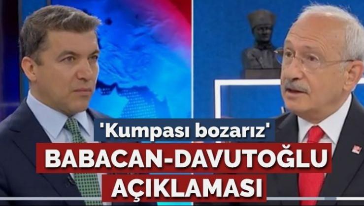 Kılıçdaroğlu Müstevlilerin maşaları 'Babacan-Davutoğlu'na sahip çıktı!