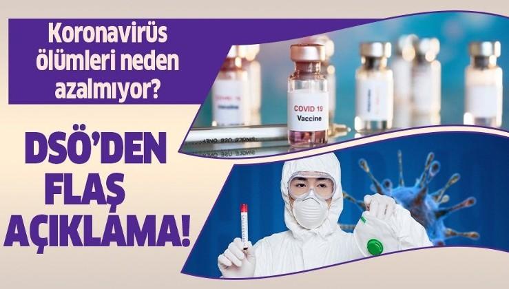 Son dakika: Koronavirüs ölümleri hakkında DSÖ'den flaş açıklama!