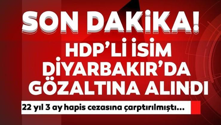 Son dakika: Terör hükümlüsü HDP'li Leyla Güven Diyarbakır'da gözaltına alındı