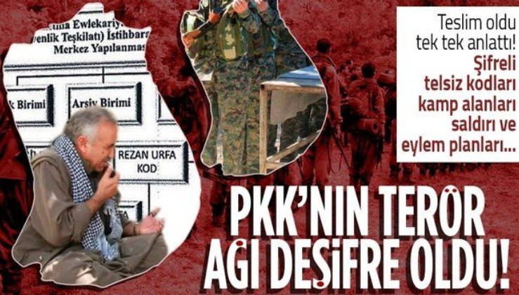 SON DAKİKA: Terör örgütü PKK'nın istihbaratçısı itiraf etti! 350 kişilik terör ağı ifşa oldu