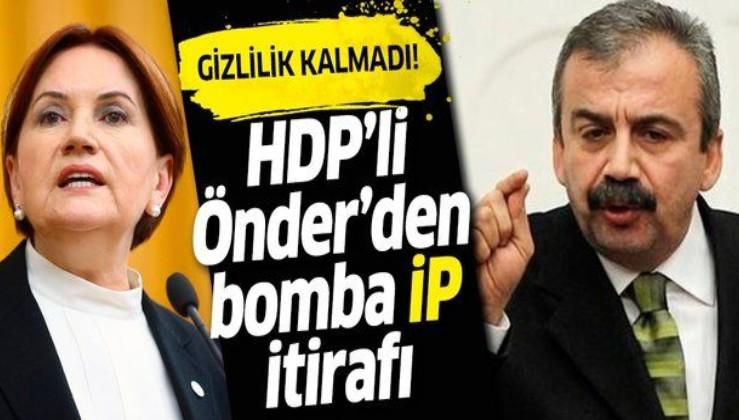 HDP'li Sırrı Süreyya Önder, Meral Akşener'in sözlerine 'ittifak' itirafıyla yanıt verdi