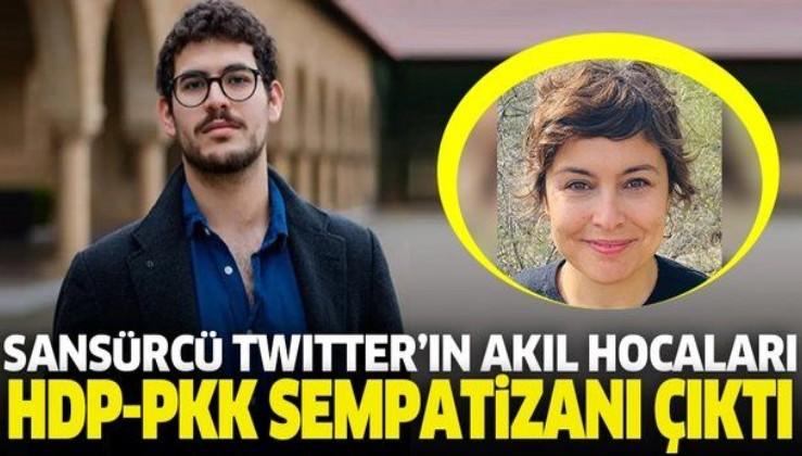 Sansürcü Twitter'ın akıl hocaları HDP ve PKK sempatizanı çıktı
