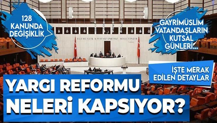 Yargı reformu paketinde neler var? AK Parti Grup Başkanvekili Cahit Özkan detayları anlattı