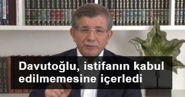 Davutoğlu, Soylu'nun istifasının kabul edilmemesine içerledi