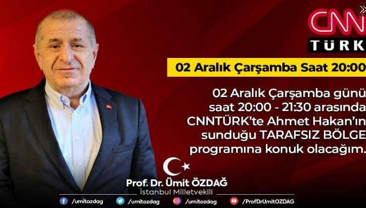 Prof. Dr. Ümit Özdağ'ın açıklamaları yine çok konuşulacak! FETÖ'cüleri çıldırtacak...