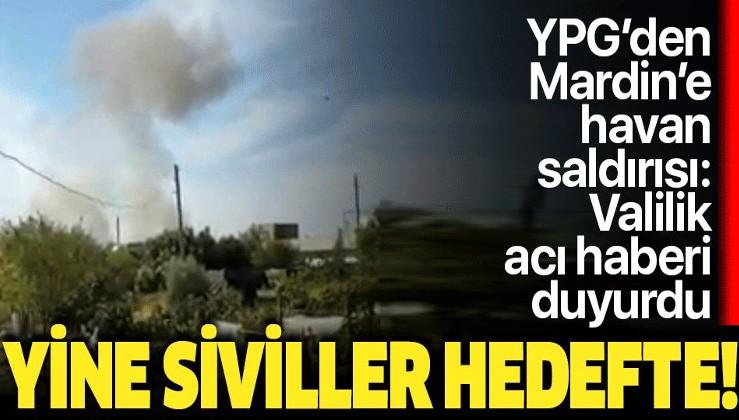 Son dakika: Mardin'in Kızıltepe ilçesine havan saldırısı: YPG yine sivilleri hedef aldı.