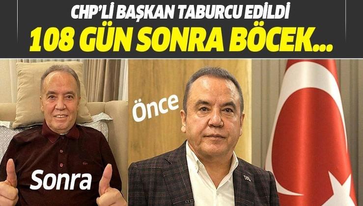 Antalya Büyükşehir Belediye Başkanı Muhittin Böcek 108 gün sonra taburcu edildi