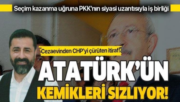 Eski HDP Eş Genel Başkanı Selahattin Demirtaş'tan CHP ile iş birliği itirafı!