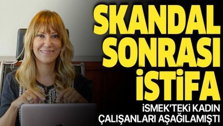 Son dakika: İSMEK skandalı sonrası Yeşim Meltem Şişli istifa etti.