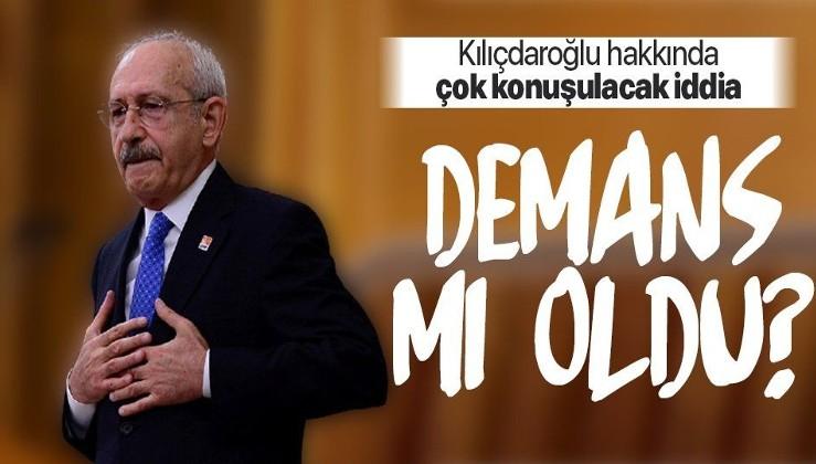 Peş peşe gaflara imza atan CHP lideri Kemal Kılıçdaroğlu hakkında 'demans' iddiası! İstifa mı edecek?