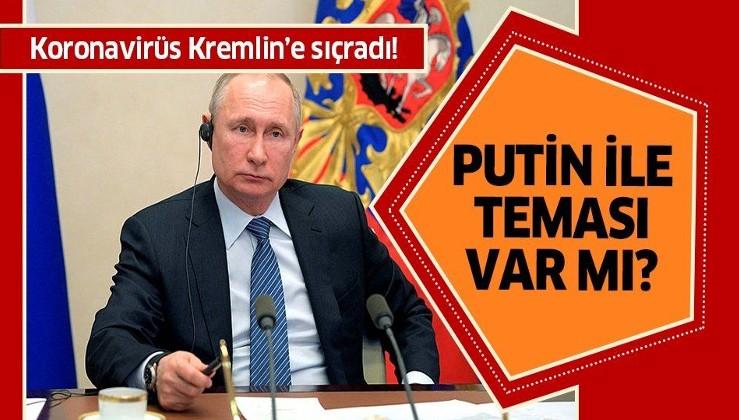 Son dakika: Corona virüsü Kremlin'e sıçradı!.