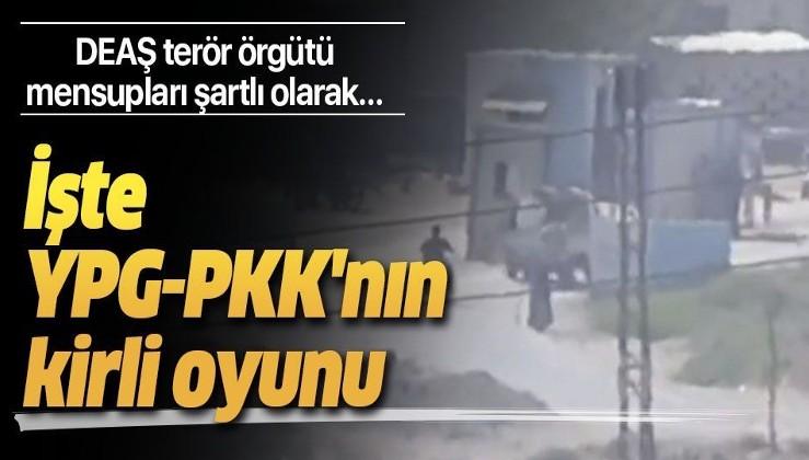 Terör örgütü PYD-YPG-PKK'nın kirli oyunu.