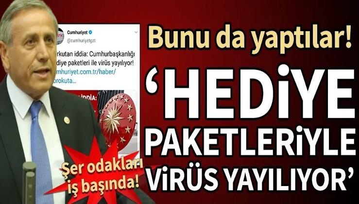 Kaya'dan skandal açıklama: Cumhurbaşkanlığı hediye paketleriyle virüs yayılıyor