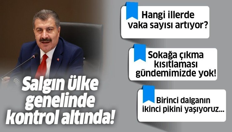 Son dakika: Sağlık Bakanı Fahrettin Koca'dan Bilim Kurulu toplantısı sonrası önemli açıklamalar