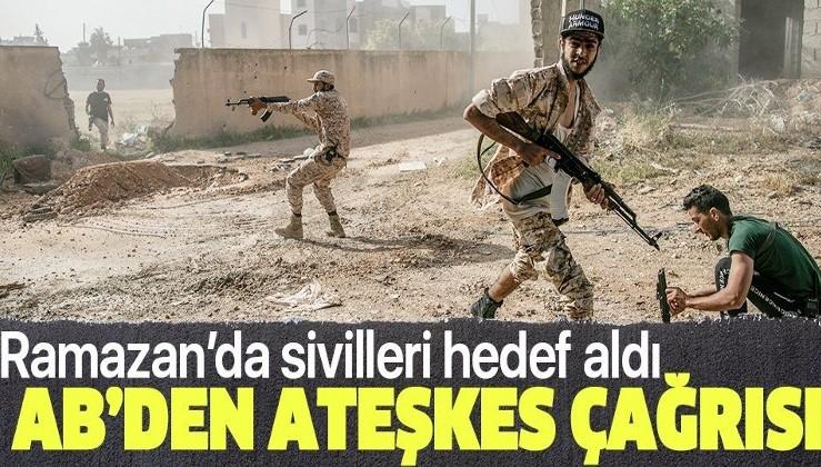 Son dakika: Almanya, Fransa, İtalya ve AB Libya'da ateşkes çağrısında bulundu