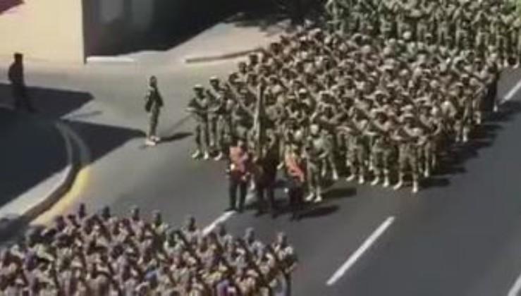 Bakü'de caddeler inliyor! NE MUTLU TÜRK'ÜM DİYENE!