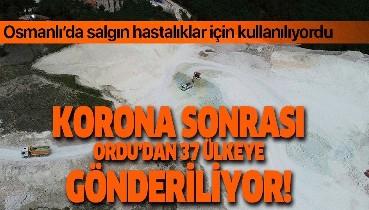 Osmanlı devletinde salgın hastalıklar için kullanılıyordu! Koronavirüs sonrası 37 ülkeye ihraç ediliyor!