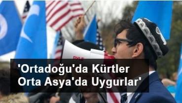 Sözde Doğu Türkistan Sürgün Hükümeti Başkanı Salih Hudayar açıkça yazmış: Ortadoğu'da Kürtler Orta Asya'da Uygurlar...