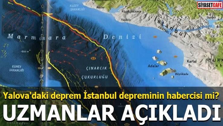 Yalova'daki deprem İstanbul depreminin habercisi mi?