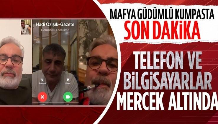 Son dakika: Bakan Soylu suç duyurusunda bulunmuştu... Gazeteciler Hadi Özışık ve Süleyman Özışık'ın ikametlerinde arama!