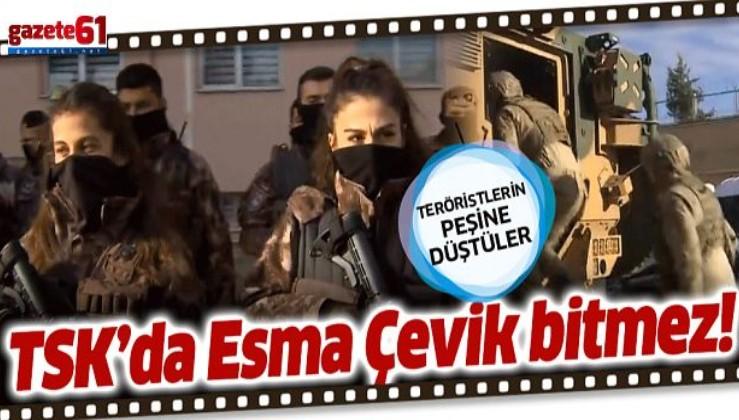 TSK'da Esma Çevik bitmez!
