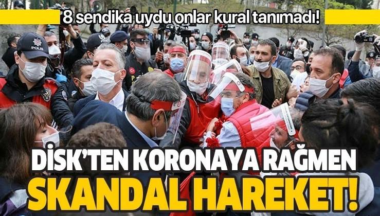 Coronavirüse meydan okudular! HDPKK'lı vekillerle birlikte Taksim Meydanı'na yürümek istediler!