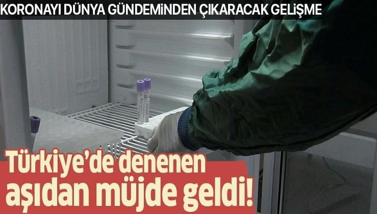 Türkiye'de de uygulanan aşıdan müjde geldi! Koronavirüsü dünya gündeminden çıkaracak gelişme...