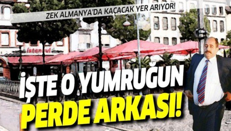 FETÖ'nün savcısı firari Zekeriya Öz'ün yediği yumruğun perde arkası!