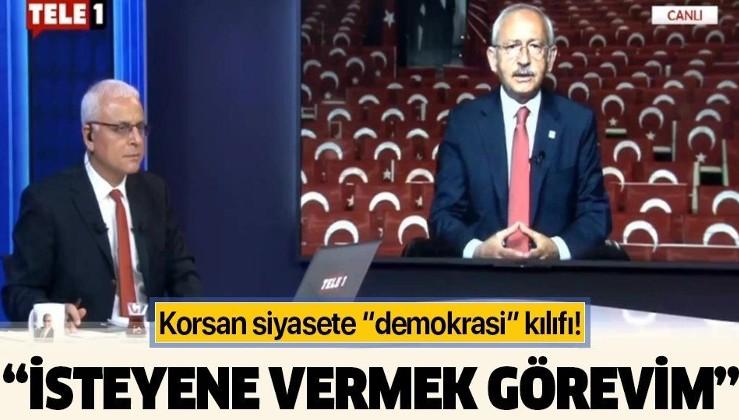 """Kemal Kılıçdaroğlu'ndan Davutoğlu ve Babacan'a milletvekili transferi sözü! Korsan siyasete """"demokrasi"""" kılıfı!"""