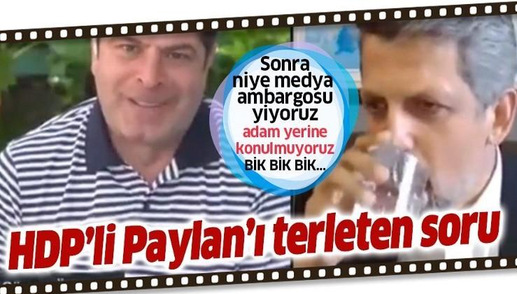 """Cüneyt Özdemir 3 kez sordu! HDP'li Garo Paylan, PKK'ya """"terör örgütü"""" diyemedi"""