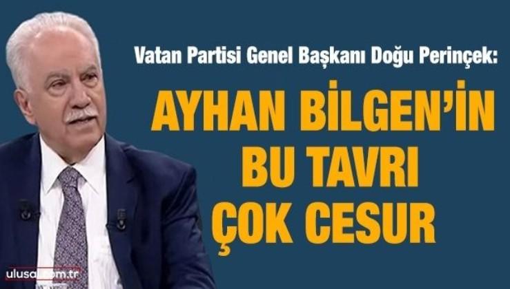 Doğu Perinçek, HDP'nin Kandil'den yönetildiği itirafını değerlendirdi: Ayhan Bilgen'in bu tavrı çok cesur