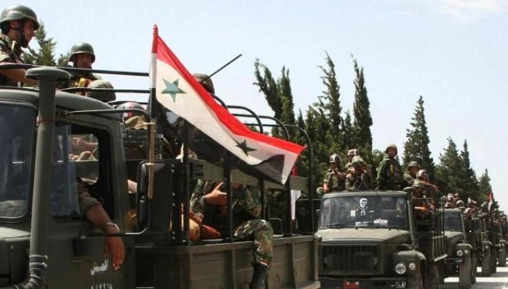 Suriye ordusu, Ayn el Arap'a girdi