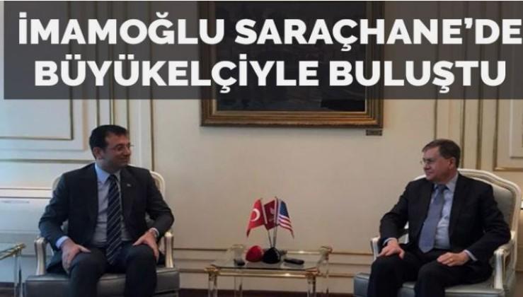 İmamoğlu ile ABD Büyükelçisi arasında basına kapalı görüşme
