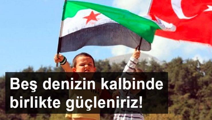 Suriye yönetimine yakın uzmanlar: Beş denizin kalbinde birlikte güçleniriz!