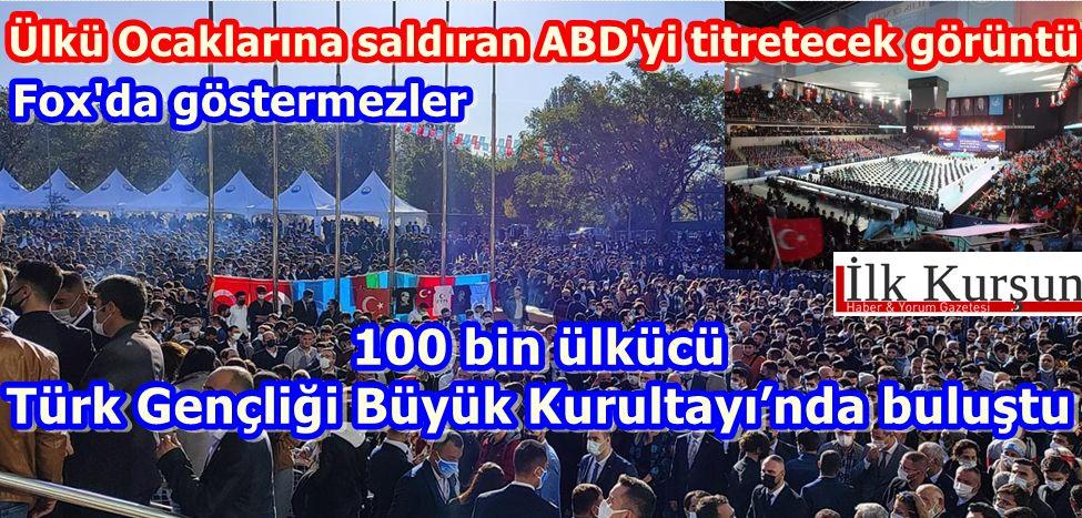"""Ülkü Ocakları """"Türk Gençliği Büyük Kurultayı"""" gerçekleşiyor"""