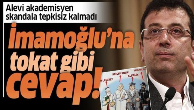 Alevi akademisyen Durmuş Boztuğ'dan İmamoğlu'na tokat gibi cevap!