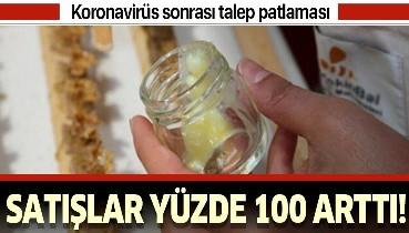 Corona virüs arı satışlarını yüzde 100 artırdı