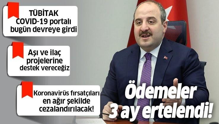 Son dakika: Sanayi ve Teknoloji Bakanı Mustafa Varank duyurdu!