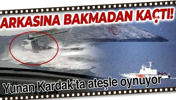 SON DAKİKA: Yunanistan'dan Kardak'ta tahrik: 2 unsur karasularından çıkartıldı